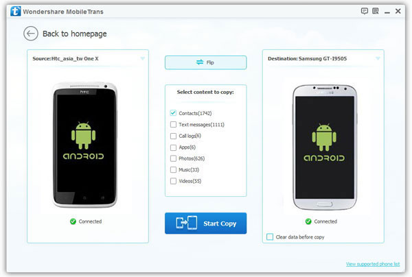 How to Transfer Data from Samsung Galaxy to Huawei