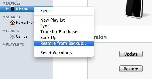recover iphone contacts from whole itunes backup