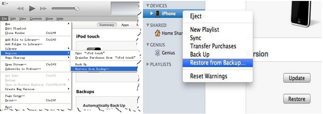 recover deleted notes from entire itunes backup